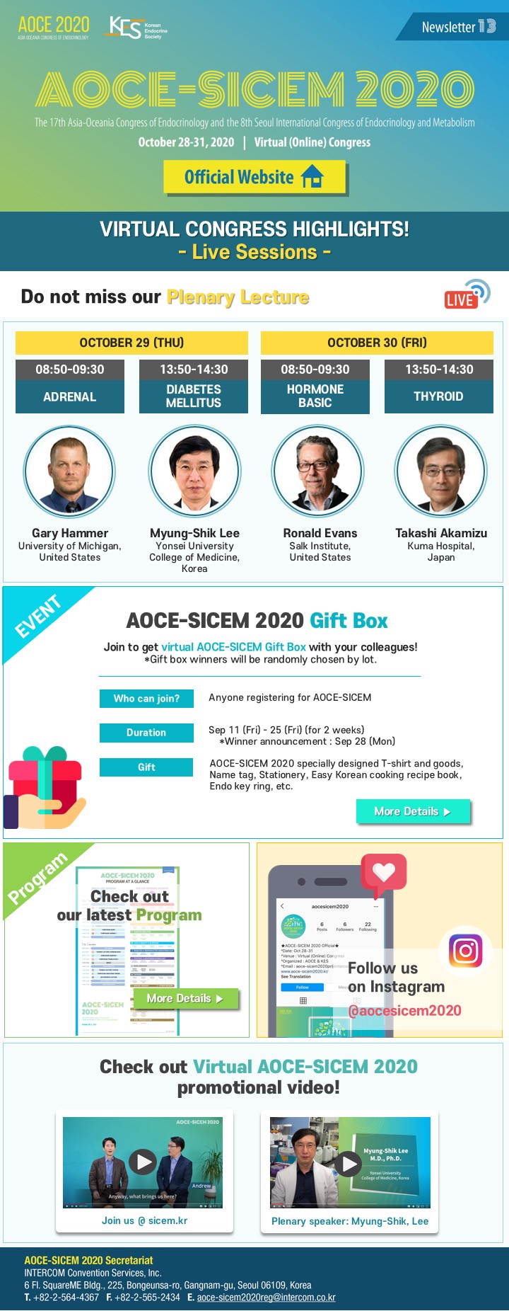 AOCE-SICEM 2020 | Endocrine and Metabolic Society of Singapore (EMSS)